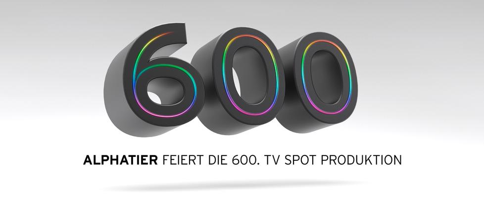 Alphatier feiert die 555. TV-Spot Produktion